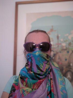 Marc Jacobs Occhiale da sole ovale lilla-lilla