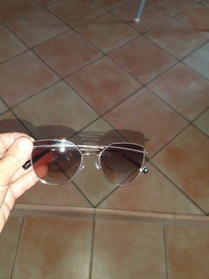 Occhiale stile retro bronzo-oro