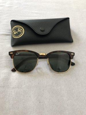 Ray Ban Gafas de piloto marrón oscuro-color oro