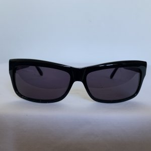 Uterqüe Hoekige zonnebril zwart Acryl