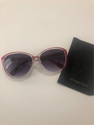 Victoria's Secret Lunettes de soleil ovales rouge
