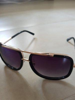 unbekannte Glasses black-gold-colored