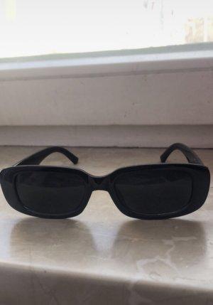 Sheinside Ronde zonnebril zwart
