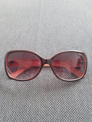 Esprit Gafas de sol cuadradas marrón claro-rosa empolvado