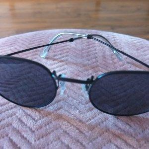 Okulary pilotki czarny