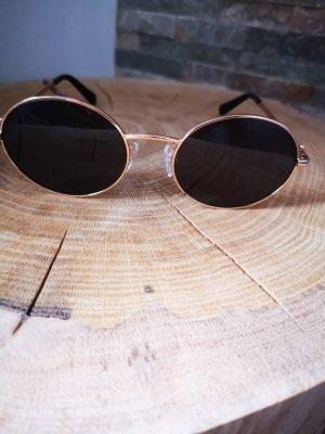 Love Moschino Round Sunglasses gold-colored