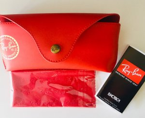 Ray Ban Bril wit-stoffig roze