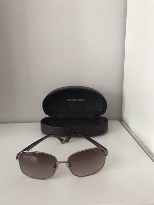 Michael Kors Owalne okulary przeciwsłoneczne jasnobrązowy