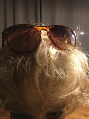 Okulary retro brązowy