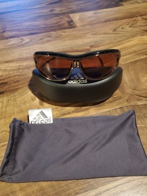 Adidas Angular Shaped Sunglasses brown