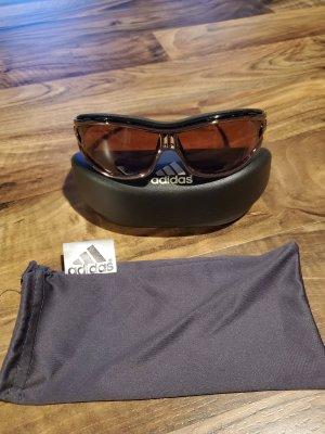 Adidas Gafas de sol cuadradas marrón