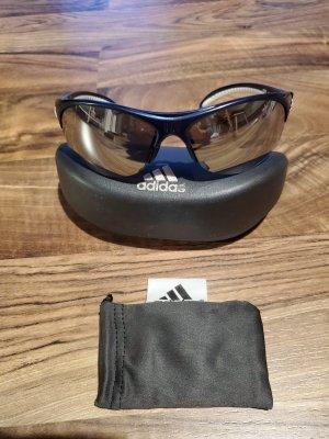 Adidas Hoekige zonnebril donkerblauw