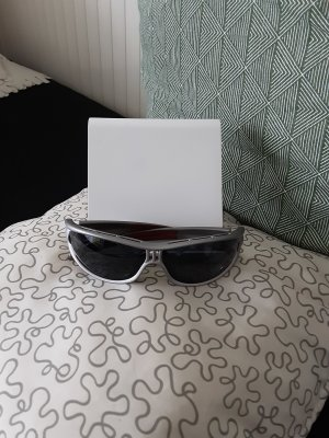 Adidas Oval Sunglasses silver-colored-red