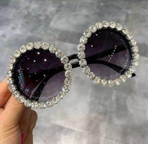 Amazon fashion Lunettes de soleil rondes blanc-noir