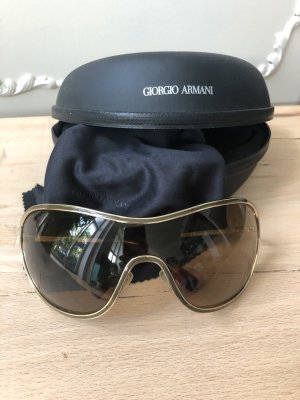Giorgio  Armani Oval Sunglasses gold-colored