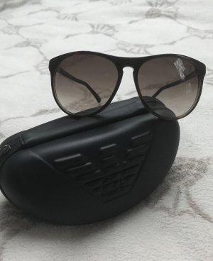 Emporio Armani Gafas de sol ovaladas color bronce