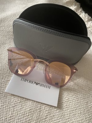 Armani Glasses pink