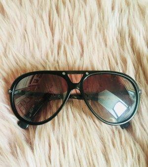 Sonnenbrille Aviator Style Black in Black