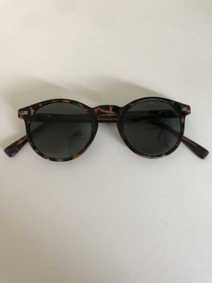 D.Franklin Round Sunglasses brown-black
