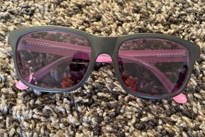 Bruno Banani Angular Shaped Sunglasses black-pink