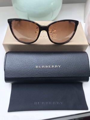 Burberry Lunettes de soleil ovales brun foncé