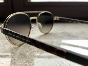 Marc Jacobs Aviator Glasses multicolored metal