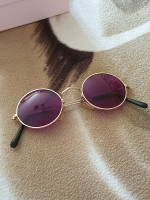 Round Sunglasses rose-gold-coloured-lilac