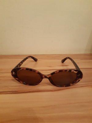 Even & Odd Lunettes de soleil ovales marron clair-brun