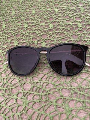 Pilgrim Angular Shaped Sunglasses black-gold-colored