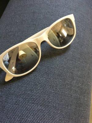 Calvin Klein Occhiale da sole ovale bianco