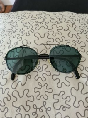 Calvin Klein Occhiale da sole rotondo nero