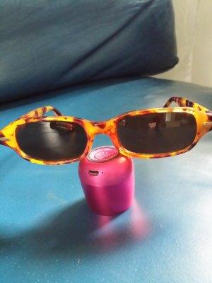 Gafas de sol cuadradas marrón-marrón claro