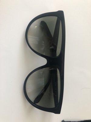 Celine Okrągłe okulary przeciwsłoneczne czarny