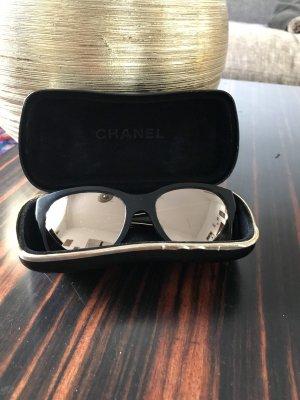Sonnenbrille Chanel, gold verspiegelt