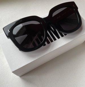 Chimi Kwadratowe okulary przeciwsłoneczne czarny