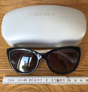 Calvin Klein Okulary biały-czarny