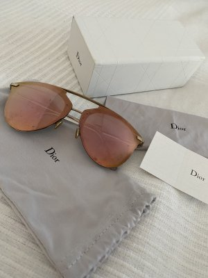 Christian Dior Gafas de piloto color rosa dorado-color oro