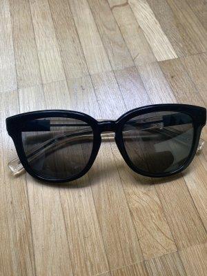 Christian Dior Occhiale da sole spigoloso nero-grigio
