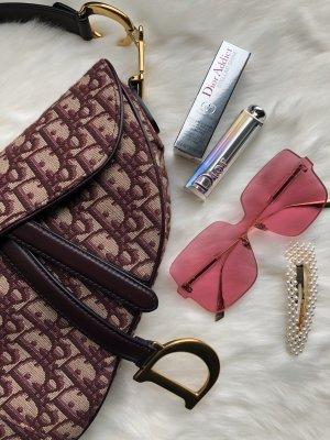 Christian Dior Lunettes de soleil angulaires rose