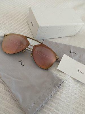 Christian Dior Occhiale da pilota color oro rosa-oro