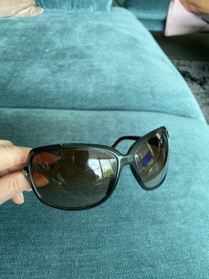 Dolce & Gabbana Ovale zonnebril donkerbruin