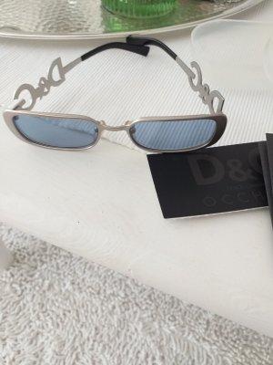 D&G Gafas de sol cuadradas multicolor tejido mezclado