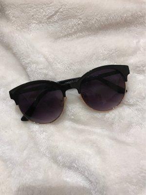 H&M Gafas negro-camel