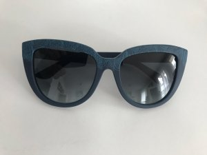 Etro Oval Sunglasses blue-dark blue
