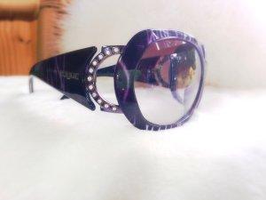 Sonnenbrille extravagant ausgefallen Vogue Straßsteine