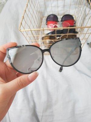 Amazon Kwadratowe okulary przeciwsłoneczne czarny-szary
