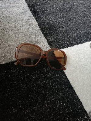 H&M Occhiale da sole spigoloso marrone