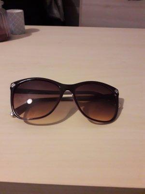 Oval Sunglasses black-dark brown