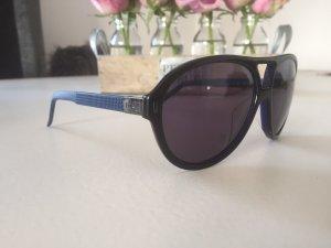 Gianfranco Ferré Vierkante bril zwart-donkerblauw