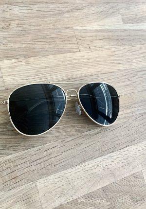 Sonnenbrille - Gold - Schwarz